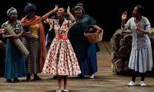 Tsakane Maswanganyi  in Winnie the Opera