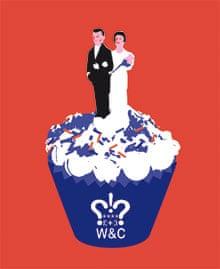 royal wedding illustration