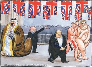 Steve Bell cartoon 29.04.2011