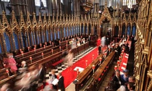 Royal Wedding: Guests arrive at Westminster Abbey