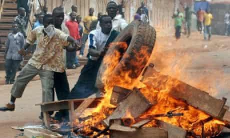 uganda kampala riots