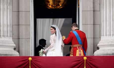 Royal Wedding: Kate, Duchess of Cambridge, smiles on the balcony of Buckingham Palace
