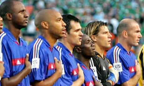 French football team players (From L) Pa