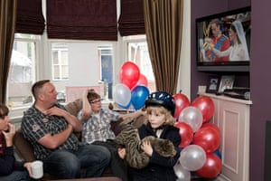 Street Party: Martin Parr photographs the Royal Wedding street parties in Walsall