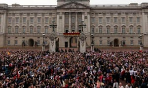 One million people flocked to central London to be part of the royal wedding celebrations