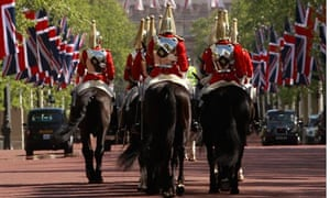 Household Cavalry on The Mall