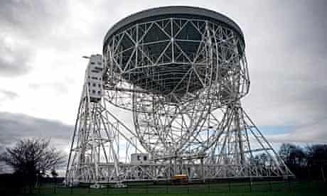 Jodrell Bank observatory, near Manchester