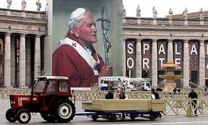 Eve Of John Paul II beatification