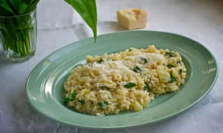 Jane Baxter's wet and wild garlic risotto