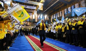 Nursultan Nazarbayev, who won the Kazakhstan presidential election, attends a celebration rally