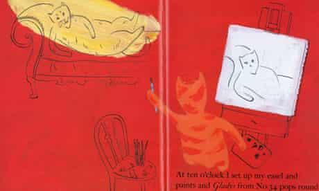 Bruce Ingman illustration from When Martha's Away