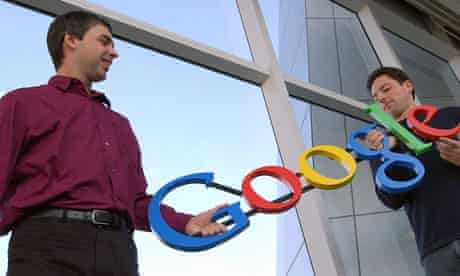 Larry Page and Sergey Brin, Google co-founders