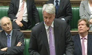 Andrew Lansley makes a Commons statement on his NHS reform bill