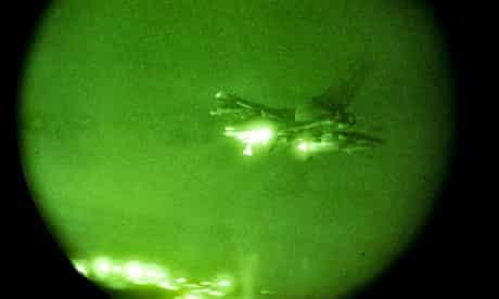 RAF Tornado GR4 aircraft