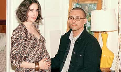 Victor LaValle with his wife, Emily