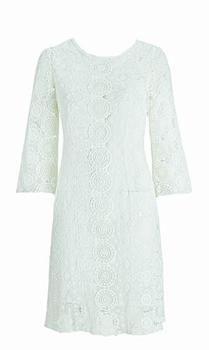Spring trends: Littlewoods lace dress