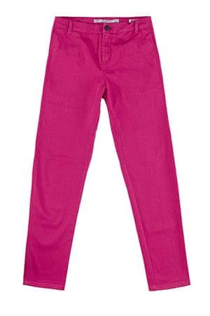 Spring trends: Zara pink jeans