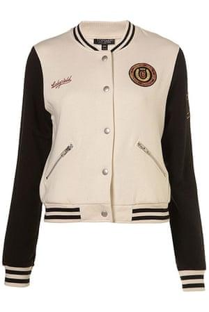 Spring trends: Topshop baseball jacket