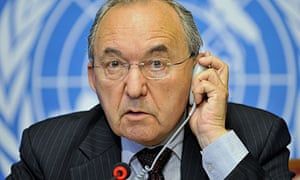 Richard Goldstone, who headed the UN fact-finding mission on the Gaza conflict