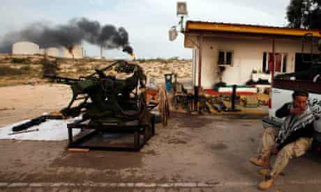 Libyan rebel, Zueitina 27/3/11