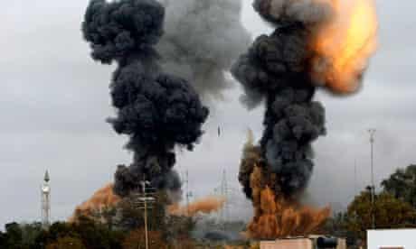 Coalition military intervention, Libya