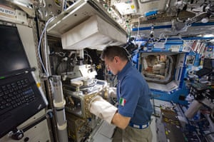 Month in Space: Paolo Nespoli, Expedition 26 flight enginee