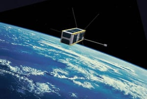 Month in Space:  UKube-1 CubeSat