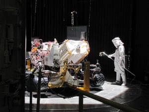 Month in Space: Mars Science Laboratory rover