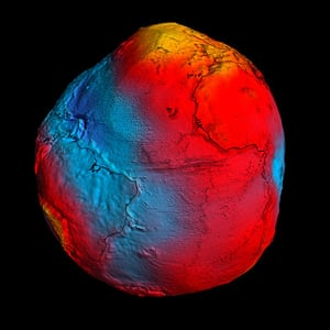 Month in Space: the most accurate model of the 'geoid' ever produced