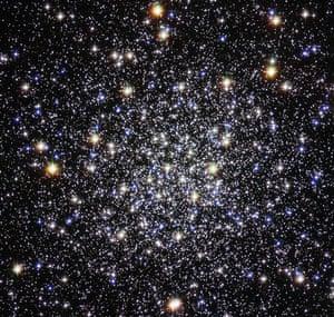 Month in Space: Cluster's Deceptive Serenity Hides Violent Past
