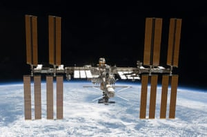 Month in Space: ISS with ATV2 docked