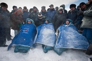 Month in Space: Expedition 26 return