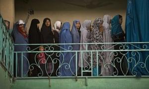 afghan female mp