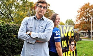Louis Theroux with Jael Phelps