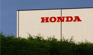Honda's UK plant in Swindon