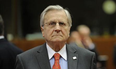 European Central Bank President Jean-Cla