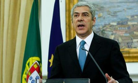 Portuguese Prime Minister Jose Socrates