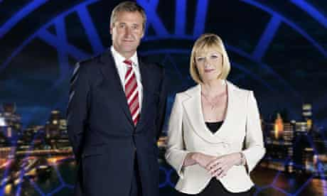 ITV News At Ten, presented by Mark Austin and Julie Etchingham, is made by ITN