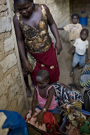 Refugees in Liberia : coming from Ivory Coast