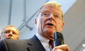 US senator Jim Inhofe