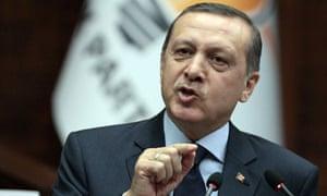 Recep Tayyip Erdogan, Turkish PM