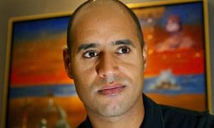 Saif al-Islam Gaddafi in London 23/7/2002