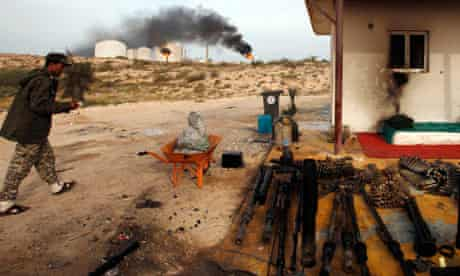 oil terminal in Zueitina