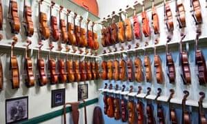 cardiff arcades violins