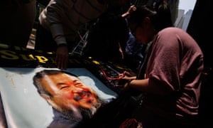 Ai Weiwei campaigners