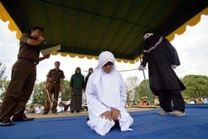 24 hours in pictures: sharia law in Aceh