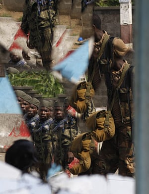 24 hours in pictures: Soldiers loyal to Alassane Ouattara in  Abidjan, Ivory Coast