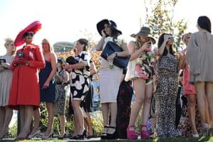 Aintree Ladies Day: Ladies at Aintree racecourse