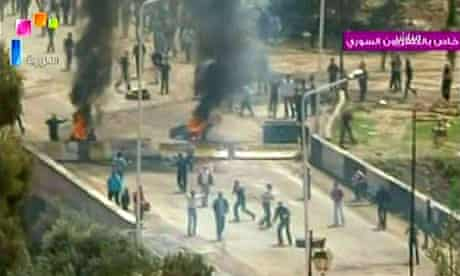 Deraa clashes