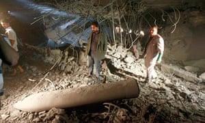 Libyan officials accuse Nato of attacking the house of Saif al-Arab Gaddafi